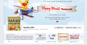 Facebook Seite Haribo