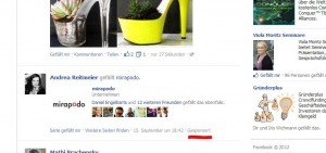 screenshot: sponsored-stories facebook-ads im newsstream