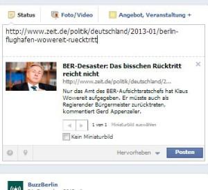 Vorschaubild beim Verlinken auf Die Zeit mit og:image Tag