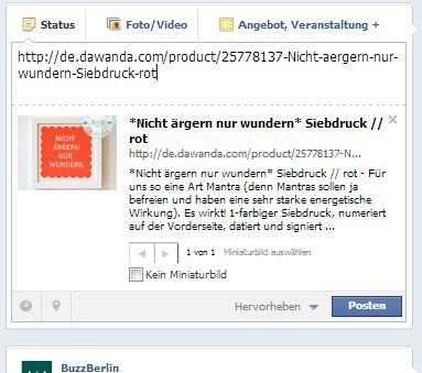 Facebook betreuung preise