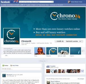 Bild: webvitamin screenshot fanpage chorno24