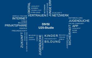 Bild: DIVISI Studie Jugendliche in Social Media U25