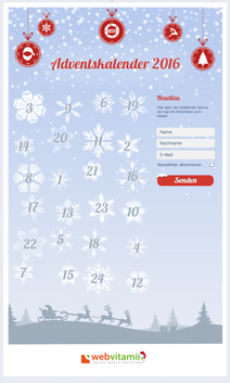 Webvitamin Adventskalender